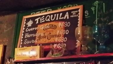 My god Tequila...