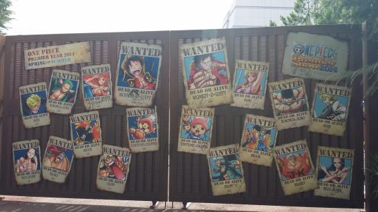 Straw Hat Crew Bounty Posters