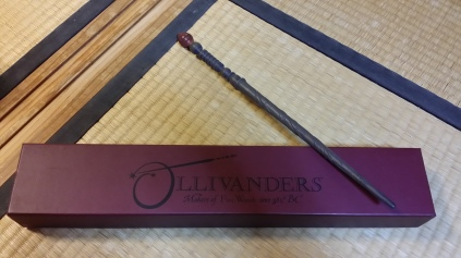 My willow-core wand
