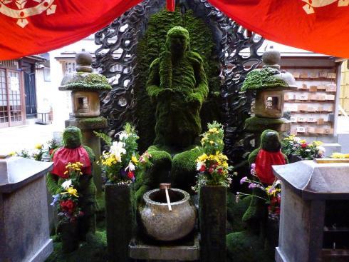 moss buddha
