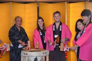 Sake with Governor 2