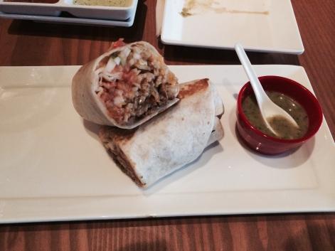 Kimchi Burrito