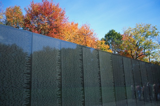 Vietnam Veterans Memorial at Washington, DC