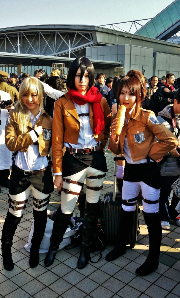 Girls of Attack on Titan!