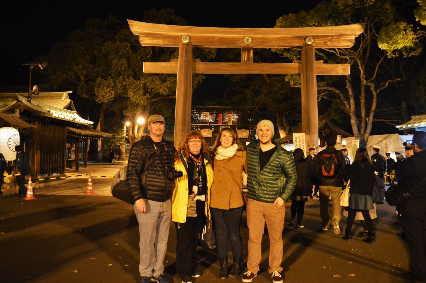 The Family At The Shrine