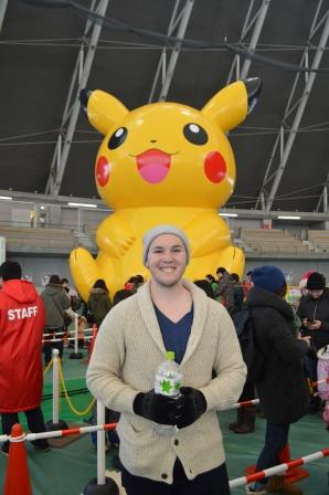 Bouncy Pikachu