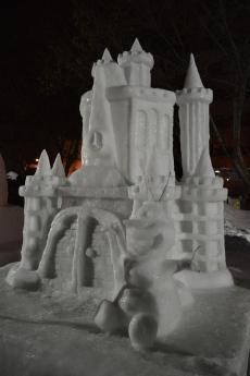 Olaf & Frozen's Castle