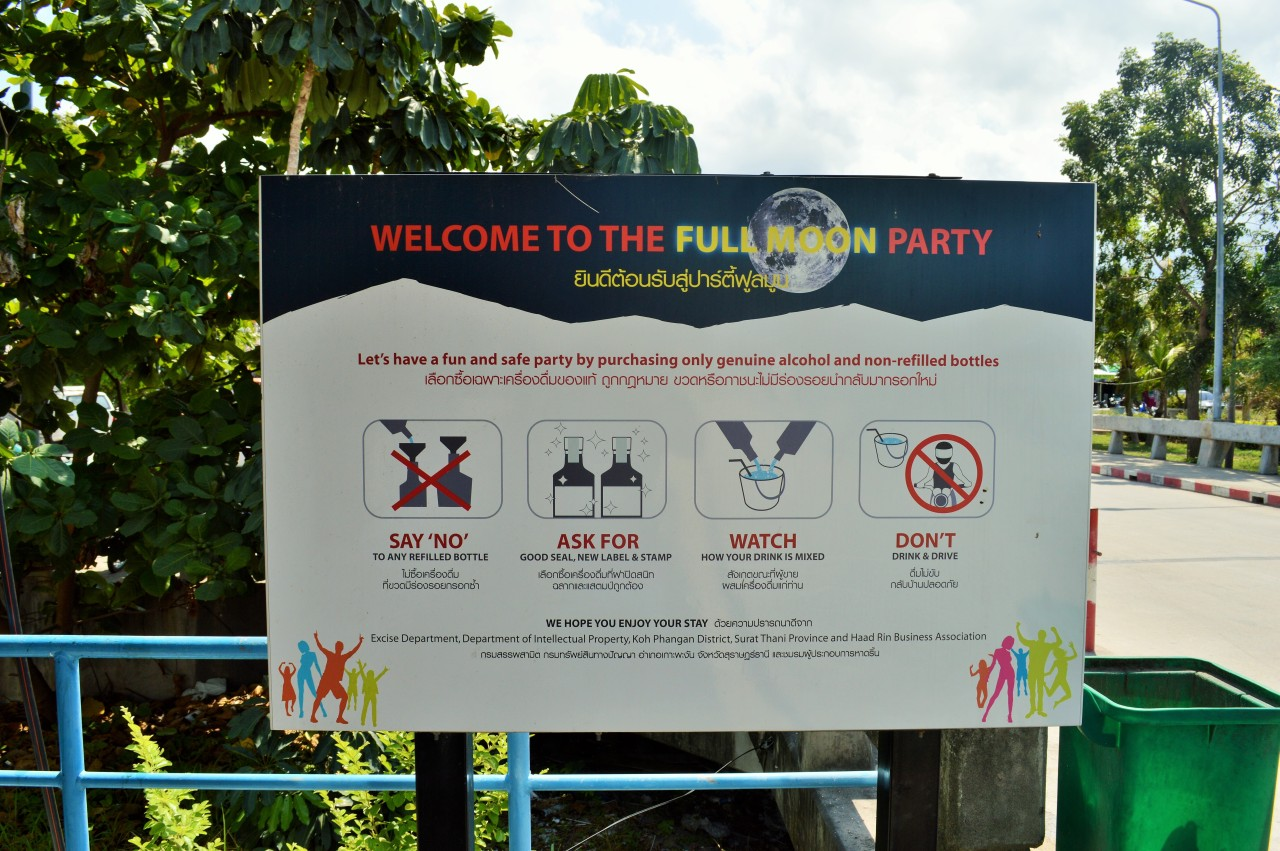 How To Stay Safe At The Full MoonParty