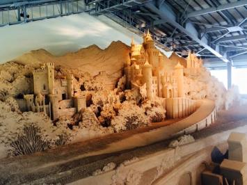 A literal sand castle